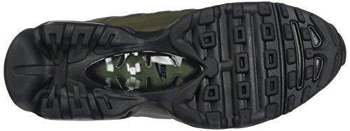 Nike Air Max 95 Ultra Essential, Scarpe da Ginnastica Uomo Verde (Cargo Khaki/Black/Black)
