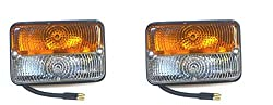 Bajato Traktor Blinker Vorne Massey Ferguson Deutz Fahr Anderes Lampen Licht Set (Links Rechts) Mit Glühlampe 11001502