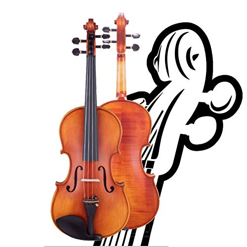 Yang violino violino 4/4 beginner adult prestazioni esame di livello fine e stabile del suono con la scatola, l'arco, colofonia, 5 formati yyfang (color : brown, size : 4/4)