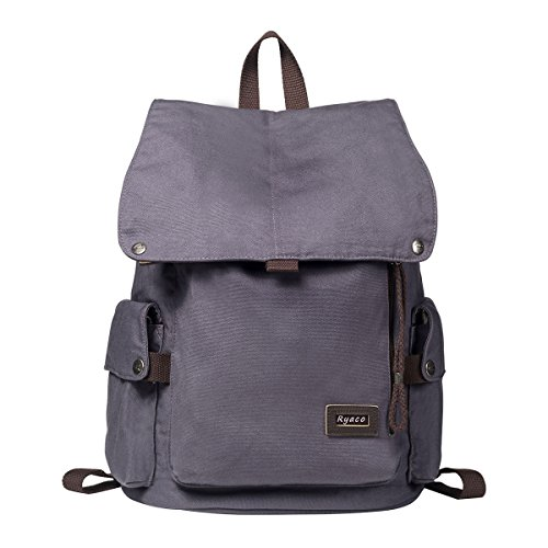 ryaco-canvas-vintage-r923-backpack-rucksack-casual-daypacks-bookbags-college-bag-school-bag-with-pad