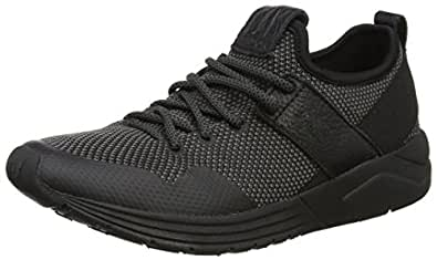 FLYA4|#Fly London Damen Salo825Fly Sneakers, Schwarz (Black Sole 003), 35 EU