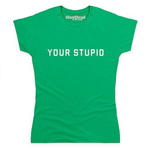 Your Stupid T-Shirt, Damen Keltisch-Grn
