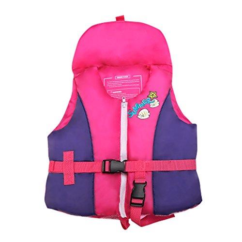 Giacca da Nuoto per Bambina Bambino - Giubbotto Nuoto Gilet Galleggiante per Bimba Bimbo Imparare a Nuotare 1-4 Anni
