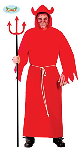 Teufel Kostüm für Herren Gr. M/L, Größe:L (Feuer Teufel Kostüm)