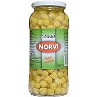 Garbanzo Cocido Norvi. Peso Neto. 570 Gr.