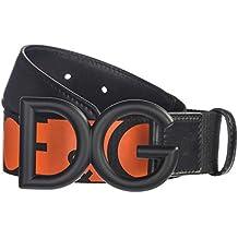2a5b9a41664 Dolce Gabbana ceinture homme nero arancio