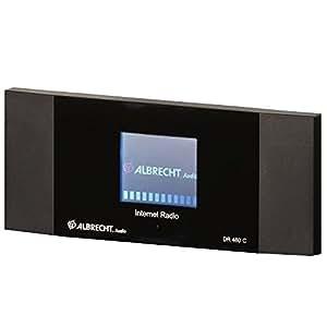 Albrecht DR 460 C Internet Numérique Noir Radio portable - Radios portables (Internet, Numérique, Noir, 190 mm, 35 mm, 75 mm)