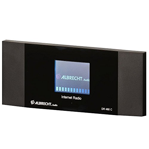 Albrecht DR 460 C Internet-Radio Adapter mit Farbdisplay