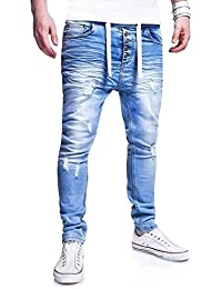 MT Styles Jogg-Jeans Pantalon homme RJ-289