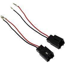 AERZETIX: 2 x Conectores de altavoces y radio para coche