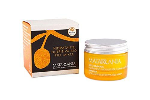 Hidratante nutritiva piel mixta certificada ecológica