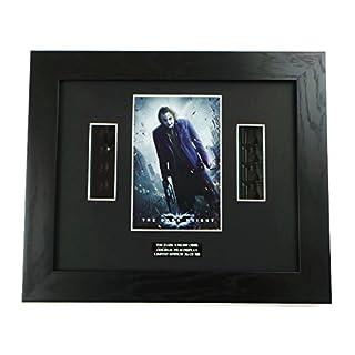 Dark Knight Joker Framed Movie Memorabilia Display