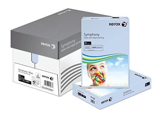 Xerox A480gsm Symphony Druckerpapier Papier Box-buttercup-p pastellblau - Xerox-box