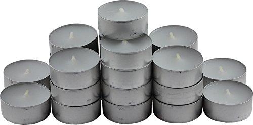 wns-emg-world Teelichter 4 Stunden Brenndauer 37mm Weiss 50er Pack
