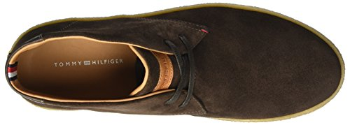Tommy Hilfiger L2285ogan 2b, Baskets Basses Homme Marron (Coffee Bean)