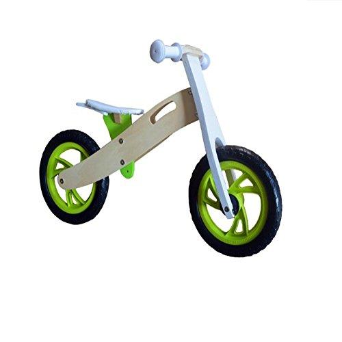 Coche de juguete niños madera balance rodaje Walker sin pie paso aprender