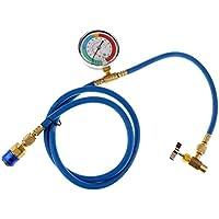 Shiwaki R134a AC HVAC ReCharge La Manguera De Medición Puede Golpear Con El Sistema De Manómetro