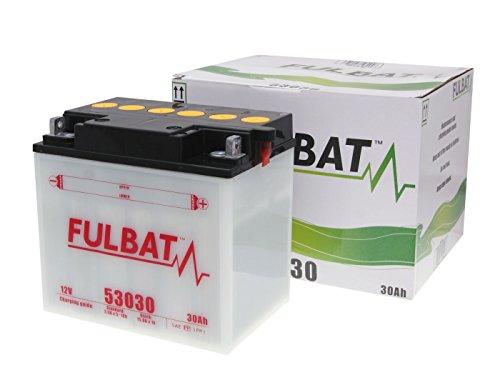 Batteria FULBAT 53030/Y60-N30L-A Dry con acido Pack