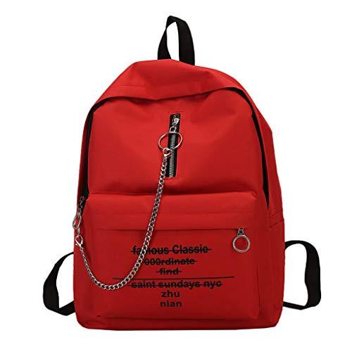 Mode Herren Rucksäcke,BestShope Bunter Drucken Muster Daypacks Schulrucksack Handtasche Groß Beuteltasche Reisetasche Reißverschluss Bergsteigenbeutel für Jugendliche Damen Männer Frauen Mädchen