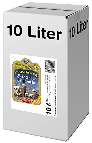 GERTSACKER Heidelbeer-Glühwein (1 x 10 l Bag-in-Box)