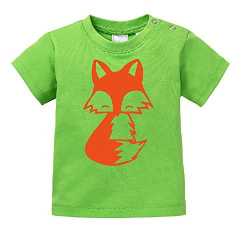 Süßes Fuchs Motiv - Bio Baby T-Shirt -