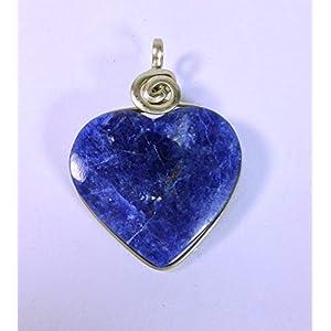 Herz Anhänger Sodalith Blue Heart