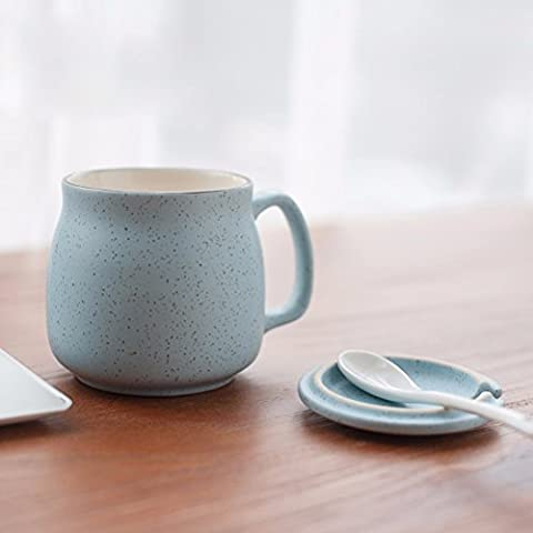 ZHGI Carino Tazza di ceramica di Tè con latte tazza di vetro Vetro tazze da caffè