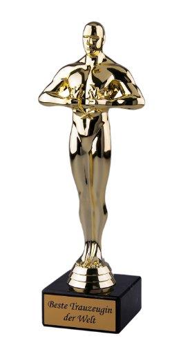 Coupe meilleure Trau zeugin le monde cadeau-Viktor 24cm Figurine de victoire