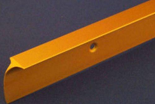 Cucina piano di lavoro Angolo comune Oro Opaco 40mm x 630mm