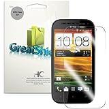 GreatShield Film de protection d'écran transparent pour HTC One SV (Lot de 3)