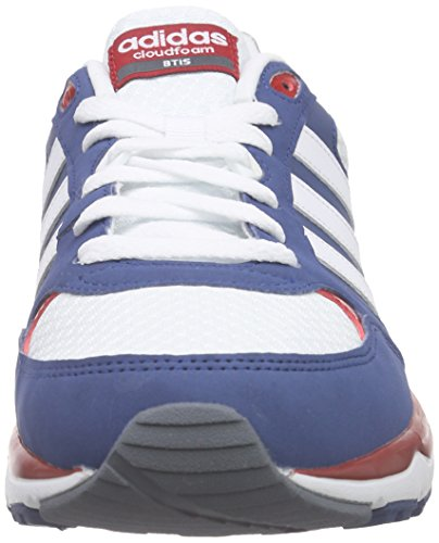 adidas Cloudfoam 8Tis, Chaussures de Running Compétition Homme Multicolore - Azul / Blanco / Rojo (Azucen / Ftwbla / Rojpot)
