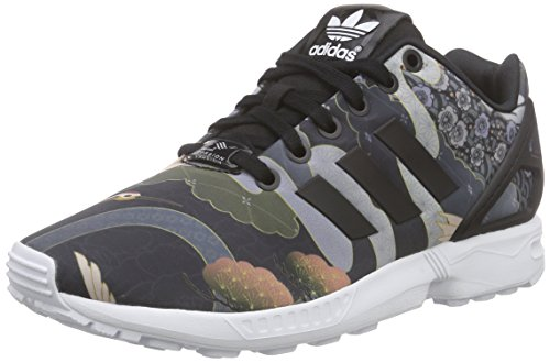 adidas Zx Flux, Baskets Basses Femme Noir (Core Black/Core Black/Ftwr White)