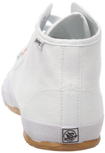 Shulong Yourshu High, Baskets mode mixte adulte Blanc (White)