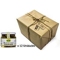 Pack 12 unidades Pepinillos Gordos 20/30 Sabor Anchoa - Envase PET 550 g Peso neto unidad