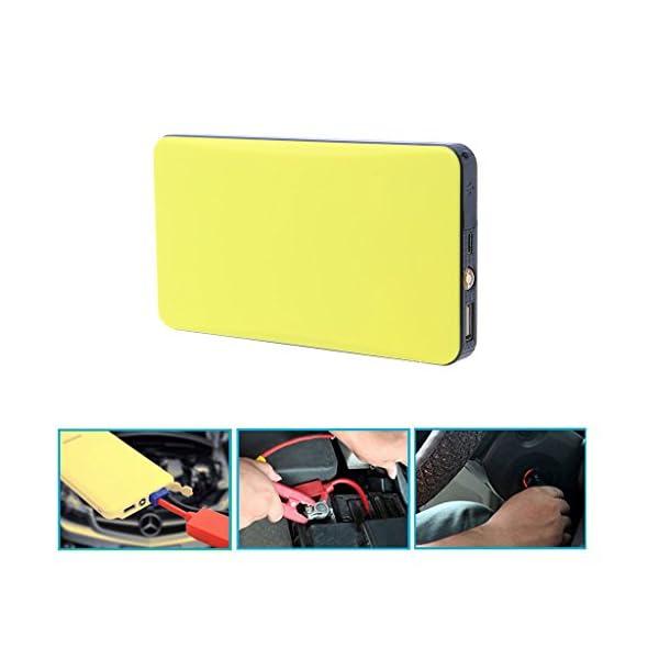 12V 20000mAh Multi-Function Car Jump Starter Power Bank Cargador de emergencia Booster recargable