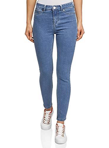 oodji Ultra Donna Jeans Slim Fit Vita Alta