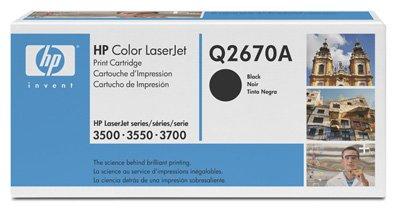 Hewlett Packard - HP - Colour Laserjet 3550N (Q2670A) Original Toner-Cartridge - Black
