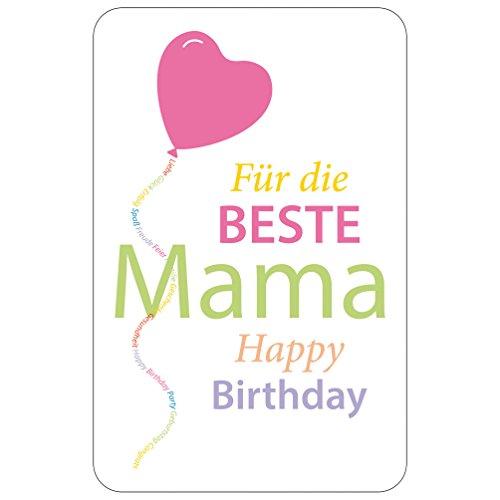 Susy Card Glückwunschkarte, Family And Friends, Mama, 1 Stück in Folie