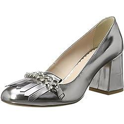 Tosca Blu Shoes Damen Spritz Mokassin, Grau (Grigio Antracite), 39 EU