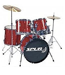 Spur RSD1 Full Size Red Starter Drum Kit EXCLUSIVE to Rimmers Music