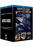 Coffret dc comics 3 films : justice league ; wonder woman ; batman V superman, l'aube de la justice
