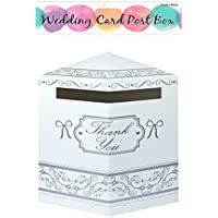 WEDDING CARD POST BOX WHITE 31 X 40 CM