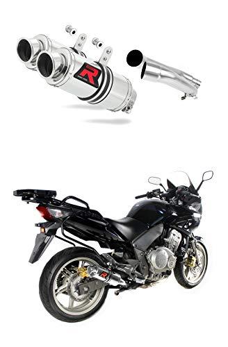 ZR7 Pot d/échappement GP I Silencieux Dominator Exhaust Racing Bolt-on 1999 2000 2001 2002 2003 2004
