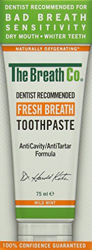 El aliento fresco aliento Co Pasta de dientes - 75ml, Menta Suave
