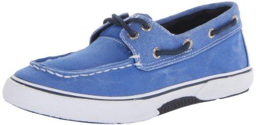 Sperry Halyard Jungen Deck Schuhe - Blau-Blue-33.5 (Sperry Jungen Schuhe)