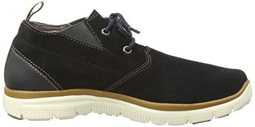 Skechers Hinton Franken, Chaussures de ville homme Noir