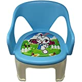 BLUBUD Baby Chair/POP N Up Chair/Squeeze Strong Durable Baby Chair With Music (Blue)