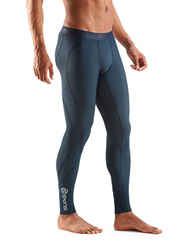 SKINS DNAmic Thermal Mens Long Tights asche