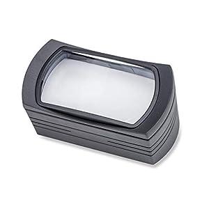 Carson FreeStand Standlupe mit 2,5-facher Vergrößerung und LED-Beleuchtungsfunktion mit 4 lichtstarken LEDs