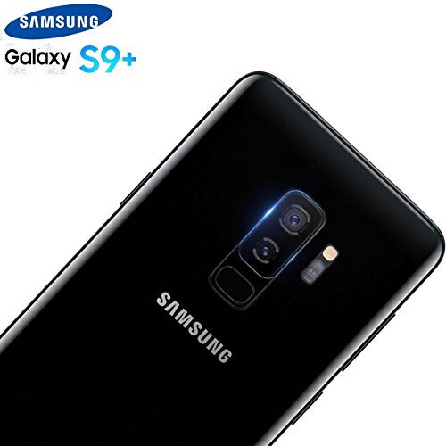 iBubble Galaxy S9 Plus Camera Lens Protector - Super Clear Ultra HD Back Camera Lens Tempered Glass Screen Cover Film for Samsung Galaxy S9 Plus